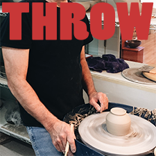 Throwing Mud Gallery pottery classes