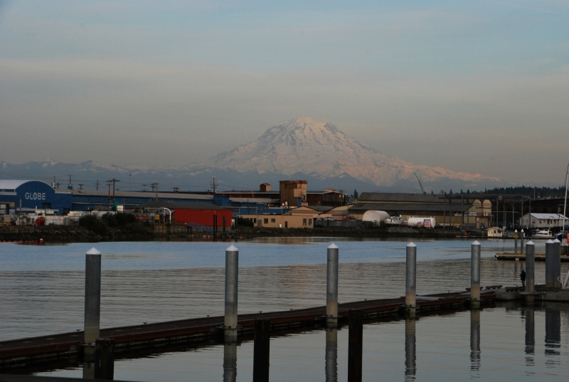 mount rainier, foss waterway