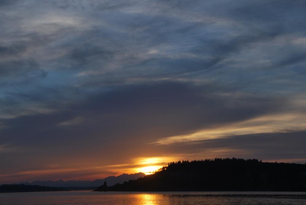 narrows, marina, sunset