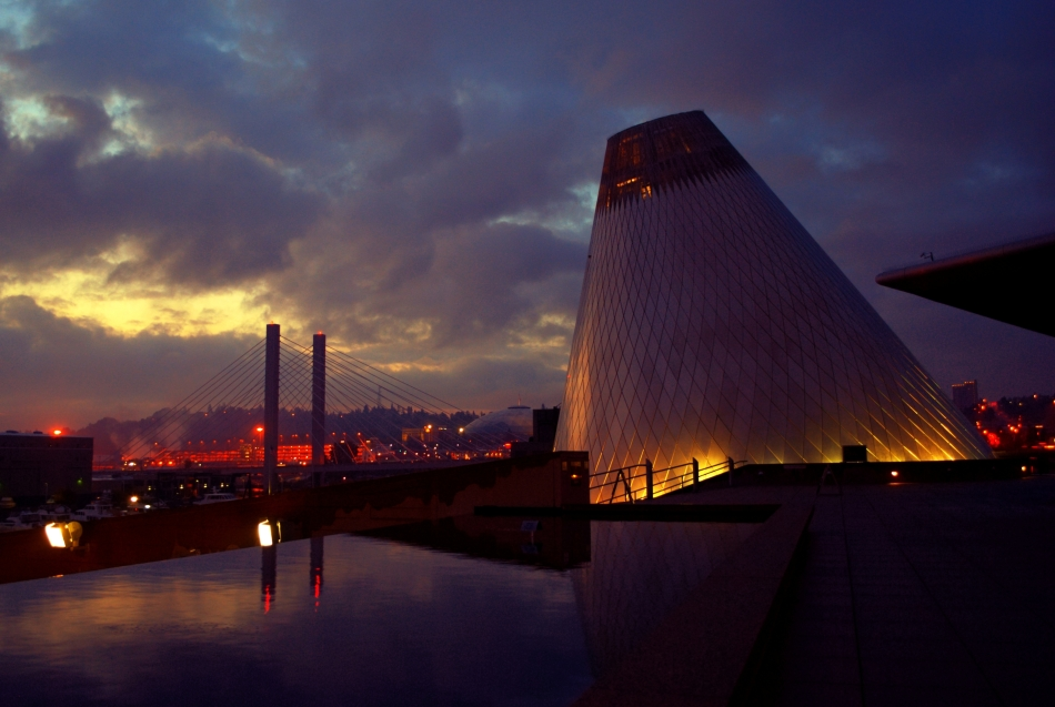museum of glass, 509 bridge, tacoma