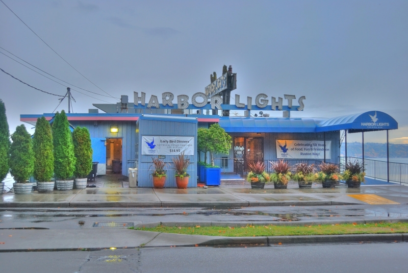 harbor lights, ruston way, tacoma