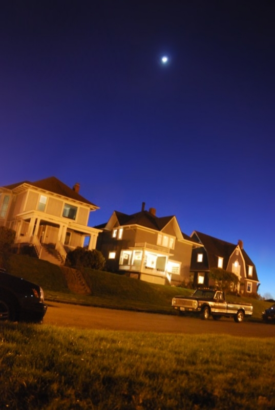 north slope, night sky