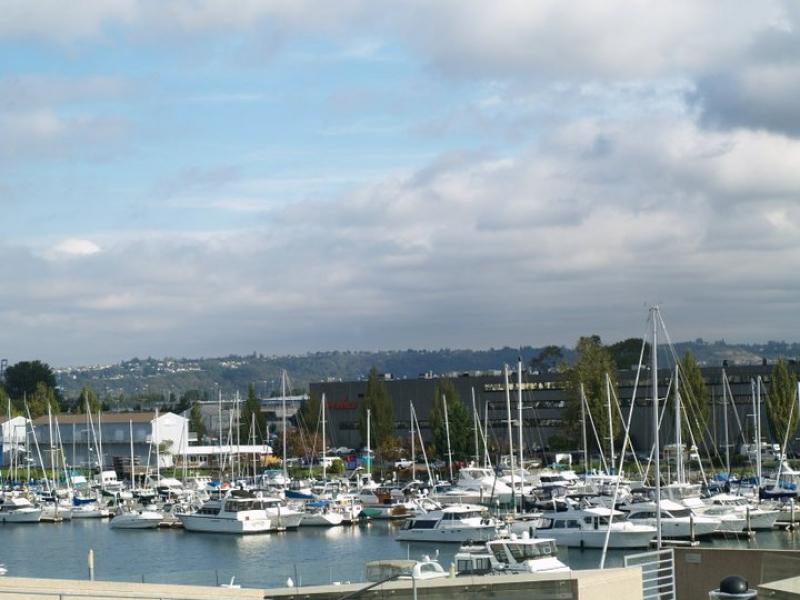 Marina, downtown Tacoma, boats