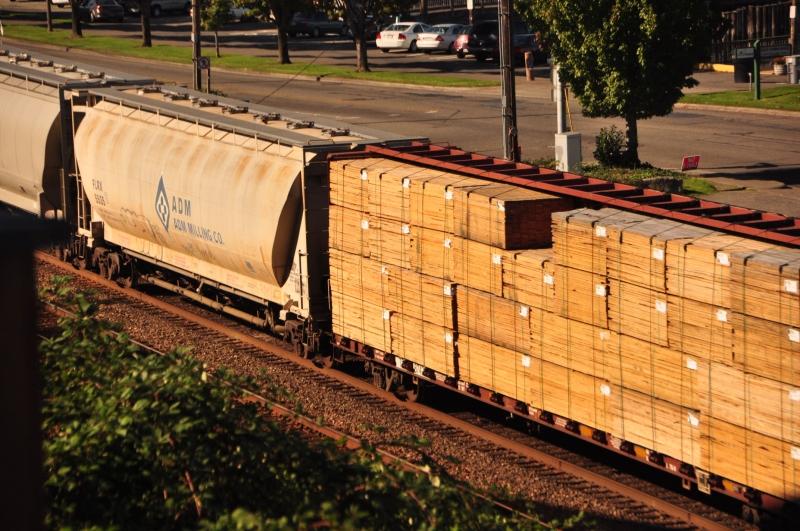 ruston way, train