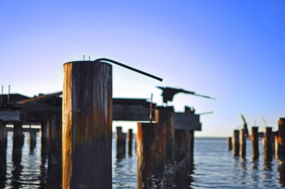 pilings, wednesday, kayak, ruston way, tacoma, waterfront, yaktown