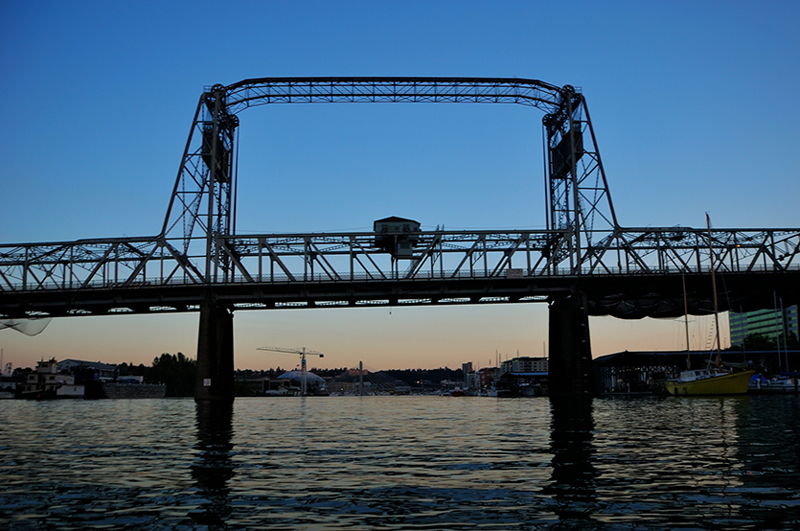 murray morgan, bridge, tacoma, thea foss, waterway, drawbridge
