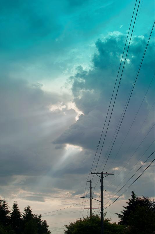 sun, north tacoma, carpuscular, anti-carpuscular, summer, storm