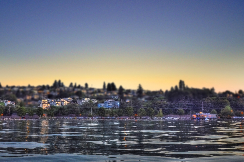 sunset, old town, tacoma