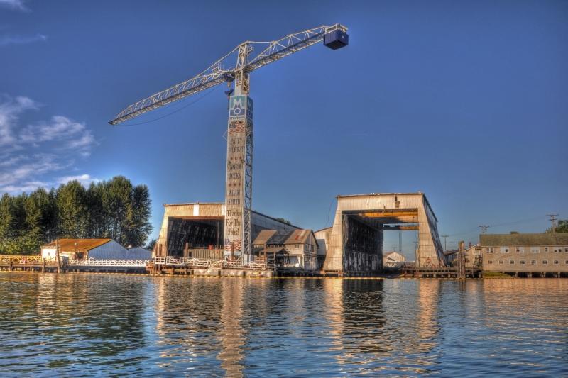 martinac shipbuilding, tacoma, foss waterway