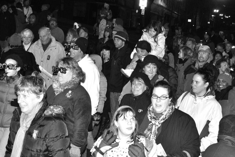 parade, first night, 2013, downtown, tacoma, people, crowd