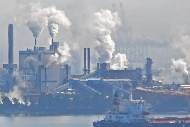 port, tacoma, smokestacks, industry