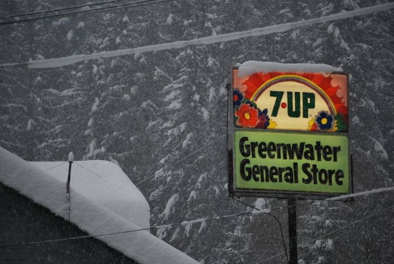 greenwater, snow