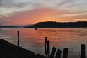 narrows, marina, sunset