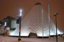 museum of glass, tacoma, snow