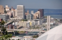 downtown, tacoma, dome, skyline, view