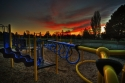jane clark park, sunset, north tacoma, playground