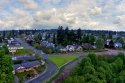 tacoma, aerial, lookout, gulch, gully, stevens, roundabout