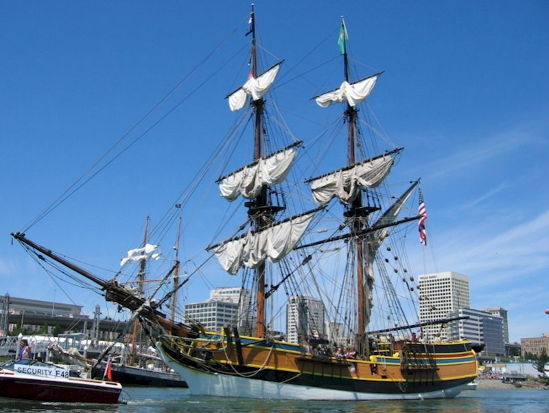 tall ships, lady washington